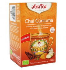 Yogi Tea Masala Chai Curcuma 17 Saquinhos
