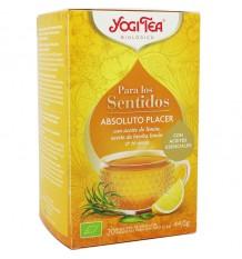 Yogi Tea Para Las Sentidos Absoluto Placer 20 Bolsitas