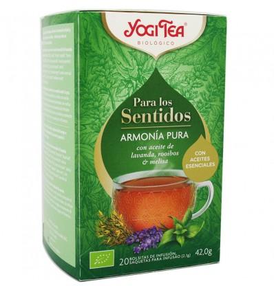 Yogi Tea Para Las Sentidos Armonia Pura 20 Bolsitas