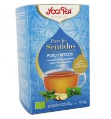 Yogi Tea Para Las Sentidos Puro Frescor 20 Bolsitas