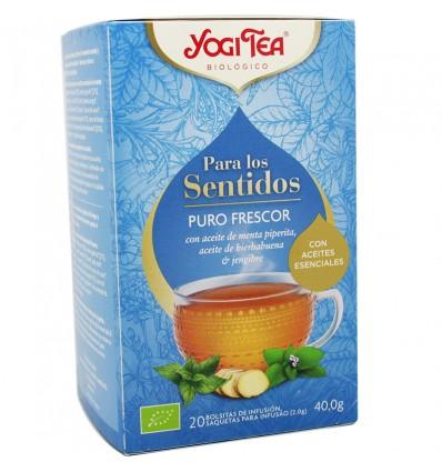 Yogi Tea Para Os Sentidos Puro Frescor 20 Saquinhos