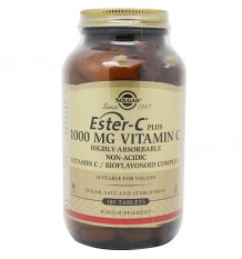 Solgar Ester-C Plus 1000 mg Vitamin C-180 Tabletten