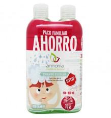 L'harmonie Shampooing Arbol del Te Duplo 600 ml