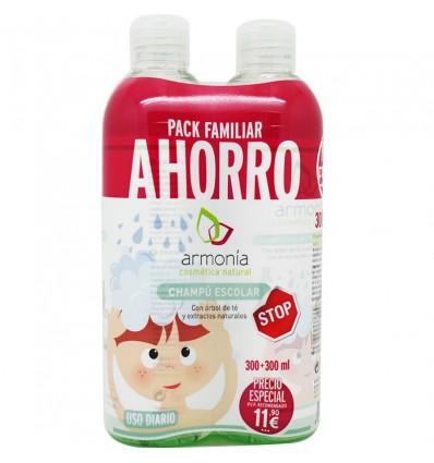 Harmonie Shampoo Arbol del Te Duplo 600 ml