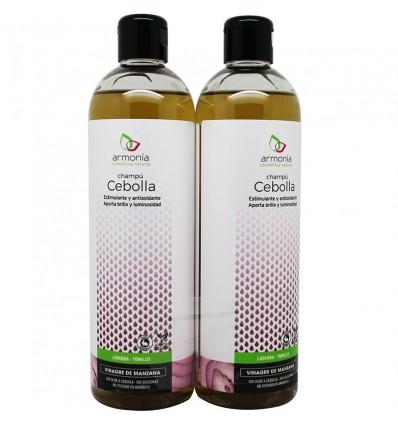 Harmonie Shampoo Zwiebel-Essig Apfel Duplo 800 ml