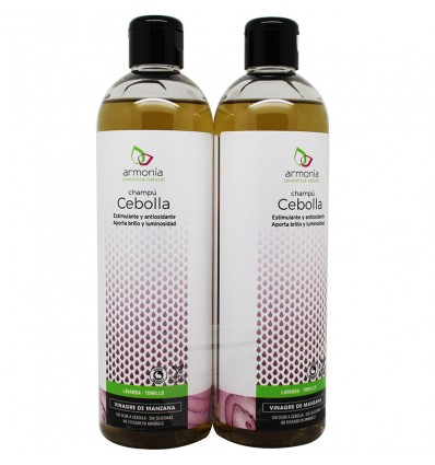 L'harmonie Shampooing Oignon Vinaigre de Pomme Duplo 800 ml