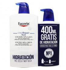 Uréia Eucerin Repair Plus Locion 1000 ml 400 ml Presente