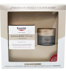 Eucerin Hyaluron Filler Elasticity Dia fps15 50ml + Elasticity Crema Noche 20 ml
