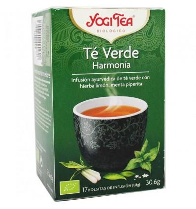 Yogi Tea Te Verde Harmonia 17 Bolsitas