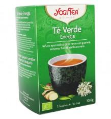 Yogi Tea Te Verde Energia 17 Bolsitas