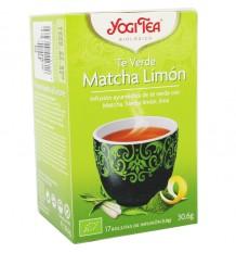 Yogi Tea Chá Verde Matcha Limon 17 Saquinhos