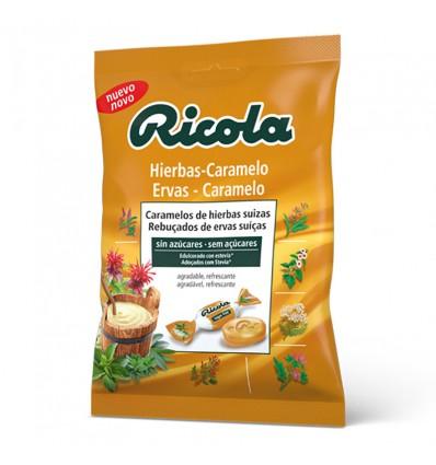Ricola Caramelos Hierbas Caramelo Bolsa 70g