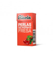 Ricola Pearls Strawberry Without Sugar 25 g