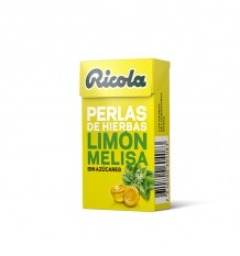 Ricola Pearls, Lemon Balm Without sugar 25 g