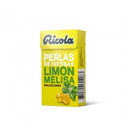 Ricola Pérolas Limon Melisa Sem açúcar 25 g