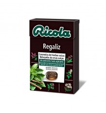 Ricola-Bonbons Lakritz-Box 50g