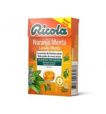 Ricola Bonbons Orange Boîte de 50g
