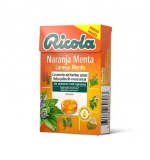 Ricola Caramelo Naranja Caja 50g
