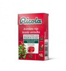 Ricola Doces Mirtilo Vermelho Caixa 50g