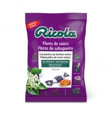 Ricola Candy Flower Sauco Beutel 70g