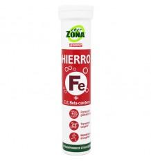 Enerzona Ferro 20 Comprimidos Efervescentes