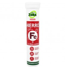 Enerzona Hierro 20 Comprimidos Efervescentes