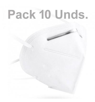 Mascarilla KN95 FFP2 Pack 10 Unidades Promocion