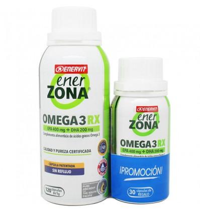 Enerzona Omega 3 Rx 120 Capsulas + 30 Capsulas
