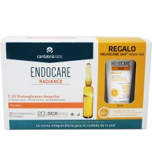 Endocare Radiance C 20 Proteoglycans 30 Ampoules + Heliocare Water gel 15 ml