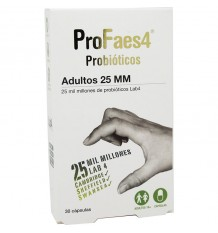 Profaes 4 Probiotika Erwachsene 25 mm 30 Kapseln