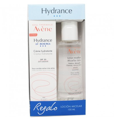 Avene Hydrance Feuchtigkeitscreme Rich Spf30 40 ml + Micellar Lotion 100 ml
