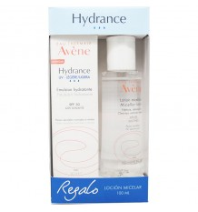 Avene Hydrance Emulsion Hidratante Ligera Spf30 40ml + Locion Micelar 100 ml