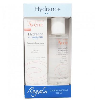 Avene Hydrance Emulsion Leichte Feuchtigkeitsspendende Spf30 40 ml + Micellar Lotion 100 ml