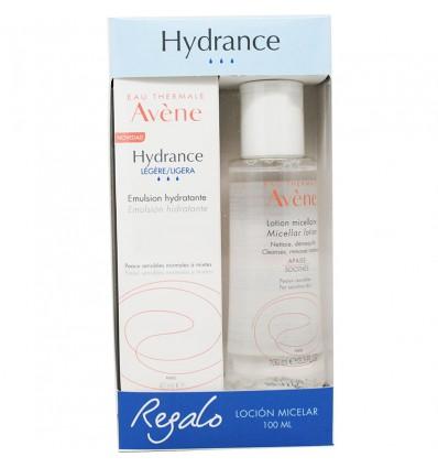 Avene Hydrance Emulsion Hidratante Ligera 40ml + Locion Micelar 100 ml