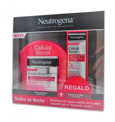 Neutrogena Cellular Boost Crema Noche 50ml + Regalo Contorno Ojos 15ml