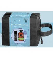 Apivita Hombre Crema Antiarrugas 50 ml + Gel Baño Mountain Tea 200ml