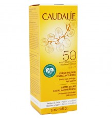 Caudalie Sun Cream anti-Wrinkle Spf50 25ml Size Mini