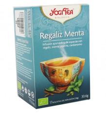 Yogi Tea Alcaçuz Hortelã 17 Saquinhos