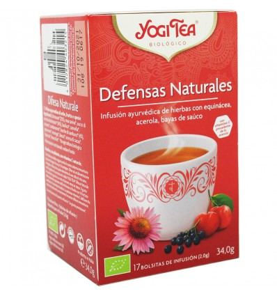 Yogi Tea Defesas Naturais 17 Saquinhos