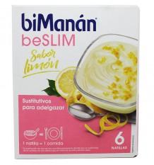 Bimanan Beslim Natillas Limon 6 Unidades