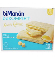 Bimanan Bekomplett Queijo 10 Crackers