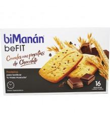 Bimanan Befit Galletas Cereales Pepitas Chocolate 16 Unidades