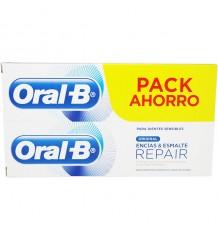 Oral-B Réparation des Gencives Et de l'Émail d'Origine 100 ml Duplo Promotion