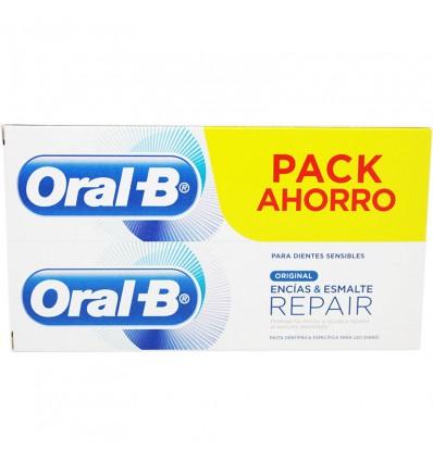 Oral B Repair Encias Y Esmalte Original 100 ml Duplo Promocion