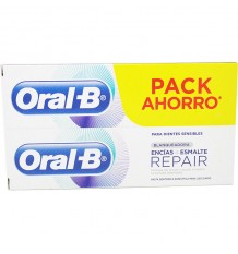Oral-B des Gencives Et de l'Émail Blanchiment 100ml Duplo Promotion