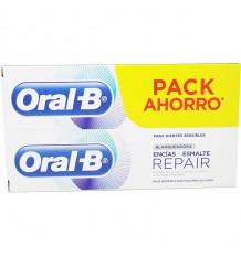 Oral-B Zahnfleisch Und Zahnschmelz Bleichen 100ml Duplo Promotion