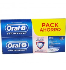 Oral B Pro Expert Dentifrice Dents Sensibles 100ml Duplo Promotion