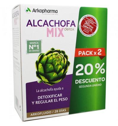 Arkofluido Alcachofa Mix Detox 280ml + 280ml 28 Dias