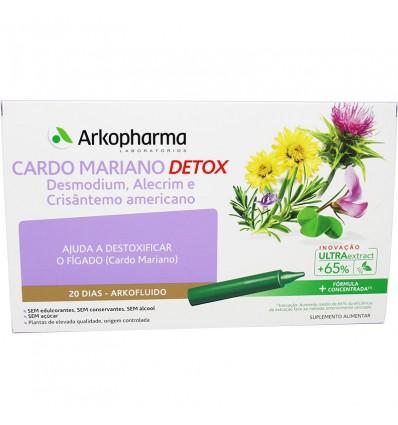 Arkofluido Cardo Mariano Detox 20 Ampollas