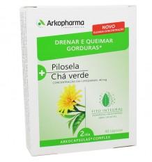Arkocapsulas Complex Eliminar Líquidos Queimar Gordura Vellosilla Chá Verde 40 Cápsulas
